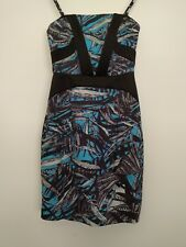 Portmans Size 6 Floral Print Pencil Dress Strapless/Spaghetti Straps As New