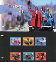 Alderney 2018 MNH Alderney Week Festivals Floats 6v Pres Pack Cultures Stamps