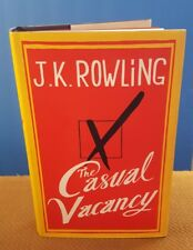 The Casual Vacancy by J. K. Rowling (2012, Hardcover W/DJ) First Edition NICE