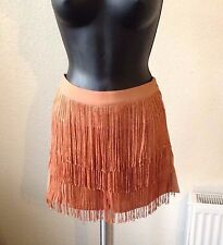 ASOS Woven Shorts with Fringing in Black or Brown SIZES 8-16