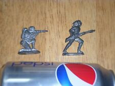 Vintage, WW1 Infantry Soldiers, TIN METAL, 50 mm, Total of # 2