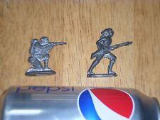 Vintage, WW1 Infantry Soldiers, TIN METAL, 50 mm, Total of # 2