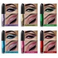 QIBEST DIAMOND Shimmer Liquid Eyeshadow Waterproof Eyeliner Glitter Eyeshadow@
