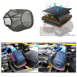 Dustproof Protection Cover Fit For Car Cylindrical High Flowair Intake Filter