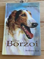More details for rare borzoi / russian wolfhound dog book 1st 1999 by desiree scott signed