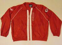 Size XL Kansas City Chiefs NFL Football NFL Puma Jacket Red White Super Bowl