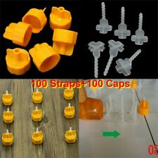 100Pcs Tile Leveling Spacer System Flooring Level Lippage Constructio