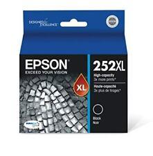 NEW Epson 252XL Black T252XL120 Ink Cartridge Genuine