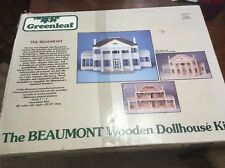 BEAUMONT Plantation Dollhouse In Box Made By Greenleaf Rare!