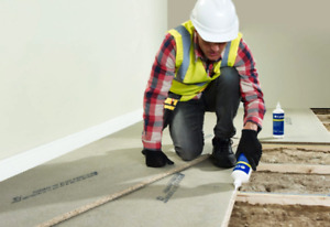 18mm Chipboard Flooring P5 T&G Moisture Resistant 2400x600 Multiple Quantities