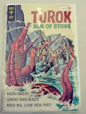 TUROK SON OF STONE 70 FINE+ GOLD KEY 1970 PA2-300