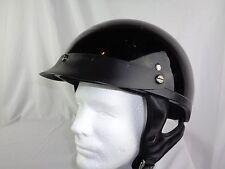 Rodia Black Medium Half Helmet Very Good Condition