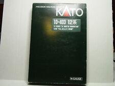 "KATO N SCALE 12 SERIES ""SL BANETSU MONOGATARI"" 6 CAR PASSENGER TRAIN 10-403"