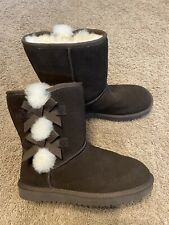 Womens Koolaburra By Ugg  Boot Bow Brown Size 8 NEW