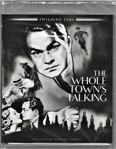 The Whole Town's Talking Blu Ray (Edward G. Robinson) All Regions Free Post