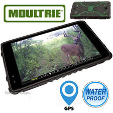"Moultrie 7"" Game Cam SD Tablet Viewer Waterproof GPS Android WiFi Apps MCA-13052"