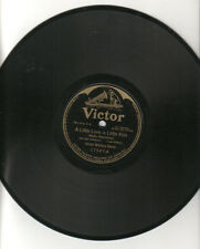"VICTOR MILITARY BAND ""A Little Love,A Little Kiss/Little Gray Home"" Victor 78RPM"