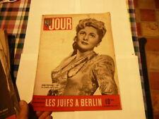 magazine hebdomadaire NUIT ET JOUR  n°40 septembre 1945 les juifs a berlin
