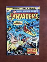 The Invaders #1 (1975) 8.0 VF Marvel Key Issue Bronze Age Comic Book