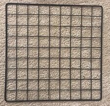 "14 x 14"" Black Wire Grid Cube Storage Organizer Panel -  1pc"