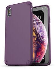 iPhone XS Max Case Ultra Slim Case Cover Protective Thin Grip (Nova) Purple
