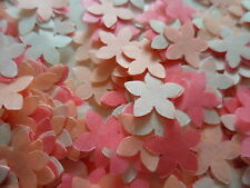 2000 Peach/Coral/Ivory Tissue Flowers/Wedding/Party Confetti Decoration