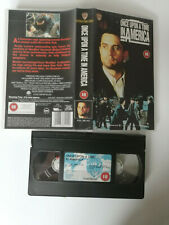 Once Upon A Time In America Vhs Video 1984 Crime Drama Robert De Niro