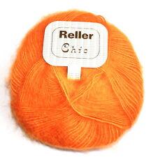 100g/7,98€ 50 Gramm Strickgarn Reller Chic Farbe 24 orange Neu