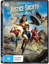 Justice Society World War II (dvd 2021) R4 Movie DC League