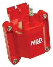 MSD Coil Blaster Performance Replacement E-Core Square Epoxy Red 44000V Ford TFI