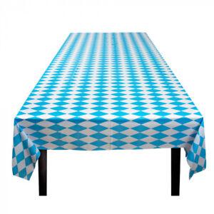 Tischdecke Bayern Blau & Weiß, 130 cm x 180 cm, Oktoberfest, Motto-Partys & mehr