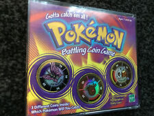 Pokemon Hasbro 1999 Battling Coin Game