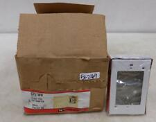 WIREMOLD FLUSH TYPE EXT ADAPTER 5751WH BOX OF 20