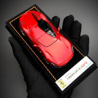 New 1/43 Looksmart Ferrari Monza SP1 Collectible car model Rosso Magma LS499B