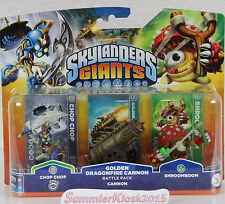 Golden dragonfire Cannon Battle Pack-skylanders giants ampliación nuevo embalaje original rar