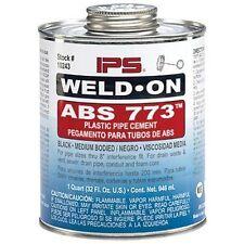 Weld-On 86227 ABS Cement - Black Medium Body