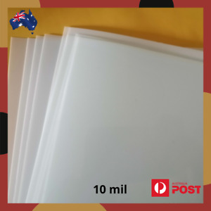 Mylar Stencil Film Sheet 250 micron / 10 mil Blank A4 Size in 2, 6 or 12 pack