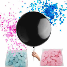 18'' Baby Shower Balloons Gender Reveal Boy or Girl Confetti Balloon Pink&Blue