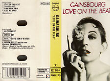 "K 7 AUDIO (TAPE) SERGE GAINSBOURG  ""LOVE ON THE BEAT"""