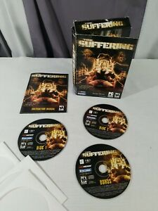 The Suffering - PC Encore Software Video Game w/ Bonus Disc + Manual