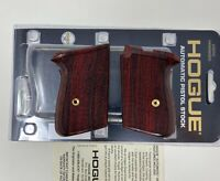 Hogue® 02811 HARDWOOD Grips Checkered COCO BOLO Wood Grip, fits WALTHER PPK