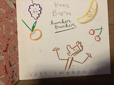 Reinhart Hunker Bunker het Roze Gevaar met originele tekening