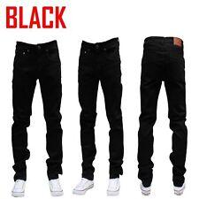 MEN Jeans Slim STRETCH FIT SLIM FIT Trousers Casual Pants SKINNY BLACK JEAN
