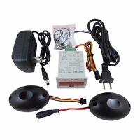 AC100-240V Digital Red LED People Counter+Photoelectric Infrared Detector Sensor