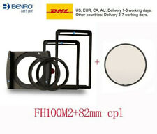 Benro FH100M2 100mm Filter Holder Kit for 82mm 77mm lens+82MACPL FILTER