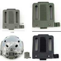 Tactical Helmet Plastic Accessory NVG Mount Adapter for Fast Night Vision Frame