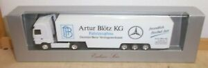 "Herpa Exclusive Series Mercedes Benz Lorry "" Artur Blötz KG "" New IN Boxed"