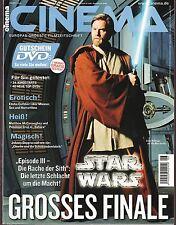 Cinema Nr.6 / 2005 (Nr.325) Star Wars Episode III Die Rache der Sith