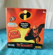 New The Incredibles Cartridge Software Disney Dream Sketcher in Box Vintage