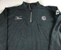 Cobb Atlanta Volleyball Jacket Mens XL Georgia Sweatshirt #2 Marietta 1/4 Zip